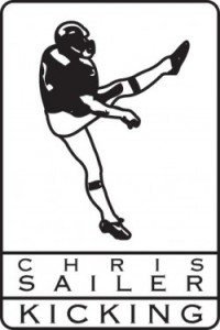 Chris Sailer Kicking logo