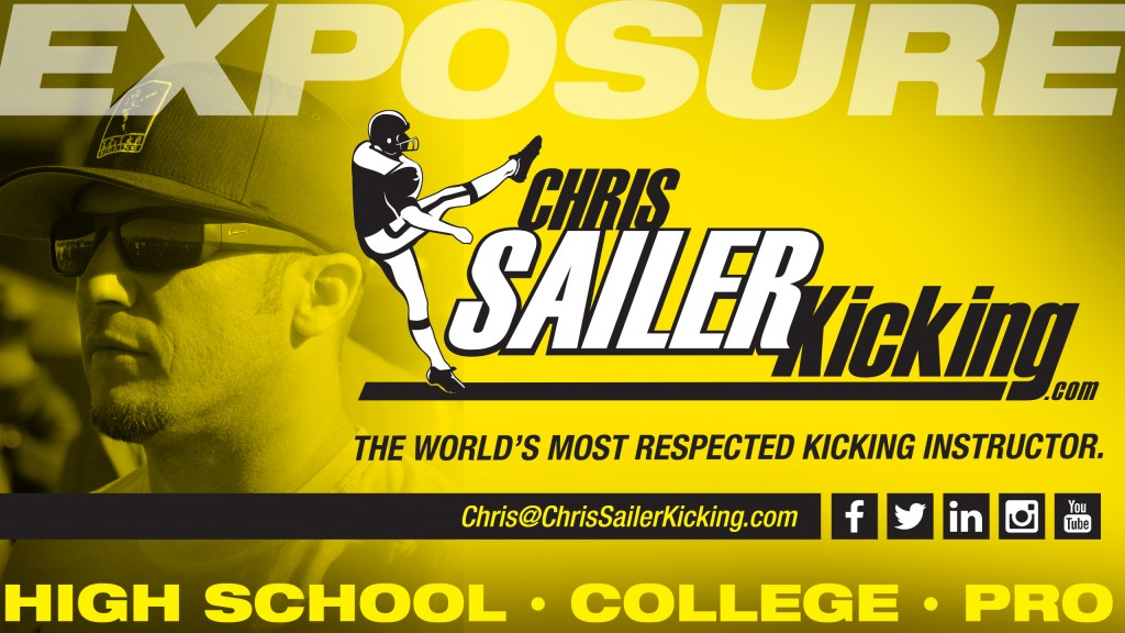 Chris Sailer Kicking Add
