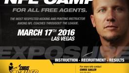 Chris Sailer Kicking – NFL Combine, March 17 Las Vegas