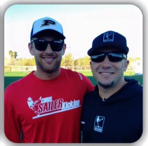 Left to right: Carson Wiggs holds private and group session regularly in Texas. He is pictured here with Chris Sailer.