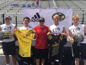 2017 U.S. Army All-American selected by Chris Sailer