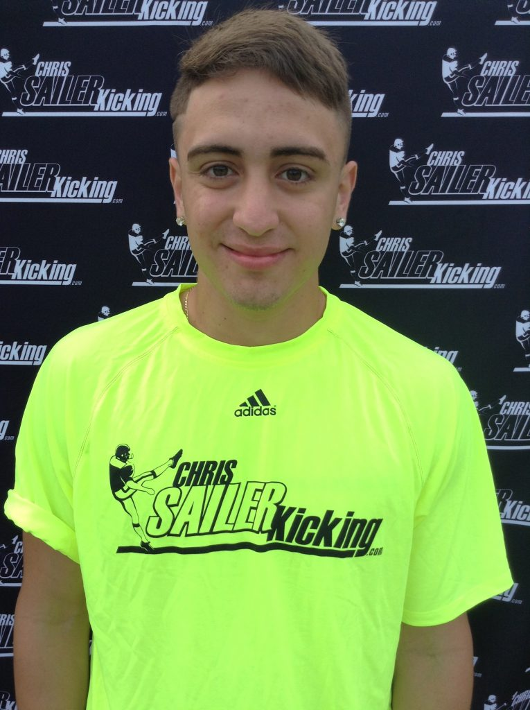 Eddy Pineiro (Florida) his a 54 yard FG this week!