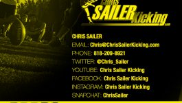2017 Chris Sailer Kicking Underclassmen Invitational – Field Goal Results