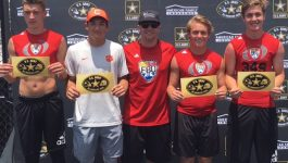 Potter, Campbell, DeLong & Power earn U.S. Army All-American Bowl Honors