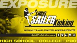 Chris Sailer Kicking – Stats Leaderboard (NFL, College, Junior College & High School, Sailer Award)