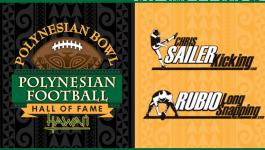 Chris Sailer Kicking Partners with the Polynesian Bowl!